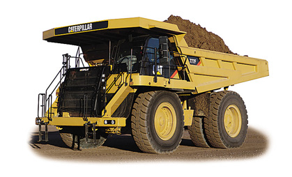Caterpillar 777F Rigid Dump Truck