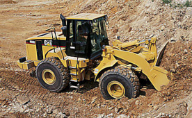 Caterpillar 966G Wheel Loader for hire