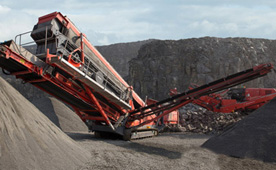 Finlay 693 Screen Crushing Equipment for hire