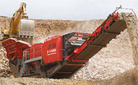 Finlay J1480 Jaw Crusher Crushing Equipment for hire