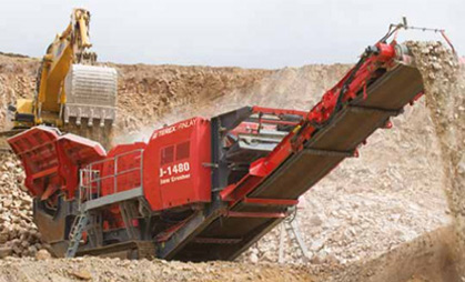 Finlay J1480 Jaw Crusher