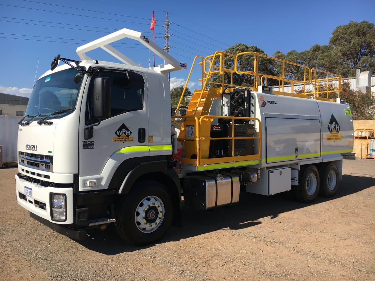 Service Trucks Perth Water Truck Hire Rental Perth Wa